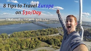 Download 8 Budget Tips to Travel Europe on $30/Day Video