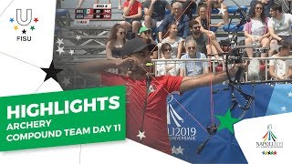 Download Highlights Day 11 I Archery compound team #Napoli2019 Video