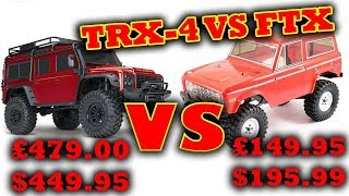 Download Traxxas TRX-4 vs FTX Outcast Rock Crawlers Video