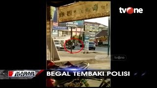 Download Baku Tembak Begal vs Polisi Terekam Kamera Video