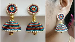 Download Easy Bridal Jhumkas Making - Using Ball Chain || Available For Sale at beautyinustores || Video