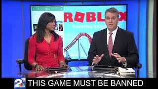Download Dumb News Reporters Want Roblox Banned! Video