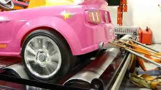 Download Dynoing Barbie Power Wheels Video