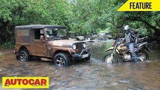 Download Offroad Battle - Mahindra Thar Vs Hero Impulse   Feature   Autocar India Video