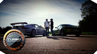 Download GT3 4.0 vs. Cayman R - Folge 56 | TURBO - Das Automagazin Video