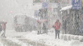 Download Importantes chutes de neige en Bosnie Video