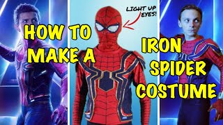 Download Make Your Own DIY Iron Spiderman Costume! (Avengers: Infinity War) Video