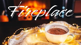Download Smooth JAZZ & Fireplace - Relaxing Background JAZZ & Bossa Nova - Chill Out Music Video