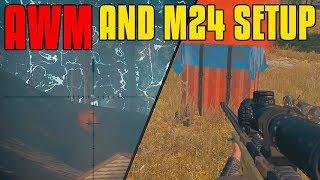 Download AWM And M24 Setup | PUBG Video