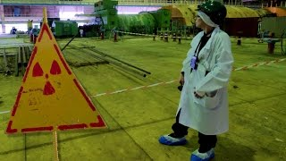 Download inside Chernobyl's sarcophagus - the turbine hall & ventilation stack (chimney) Video