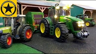 Download BRUDER Toys TRACTORS for Children FARM WORLD all machinery in! LONG PLAY Video