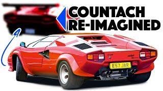 Download Lamborghini Countach Re-design: Mission impossible? Video