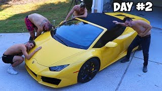 Download Last To Remove Hand, Gets Lamborghini Challenge Video