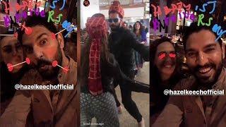 Download Yuvraj Singh's CUTE Videos With Wife Hazel Keech Will Melt Ur Heart Video