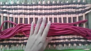 Download TAPETE COM RETALHOS TENDO COMO BASE O PAPELÃO #artesanato Video
