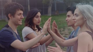Download SEND MY LOVE - Adele - Patty Cake cover - KHS, Sam Tsui, Madilyn Bailey, Alex G Video