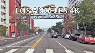 Download Driving Downtown - Chinatown 4K - Los Angeles USA Video