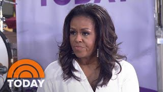 Download Michelle Obama On Current Political Climate: 'Fear Is Not A Proper Motivator' | TODAY Video