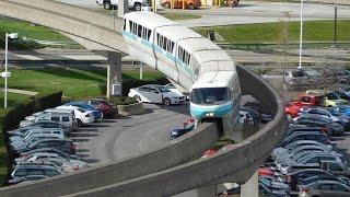Download Walt Disney World Resort Monorail FULL LOOP January 2017 Video