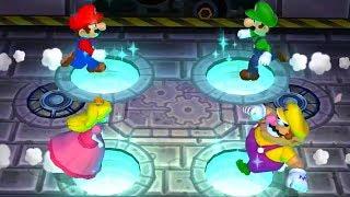 Download Mario Party 9 - Minigames (2 Players) - Mario vs Luigi vs Peach vs Wario Video