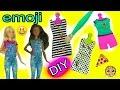 Download Create your Own Barbie Doll Fashion D.I.Y. Emoji Style Dolls Super Easy Craft Set Video
