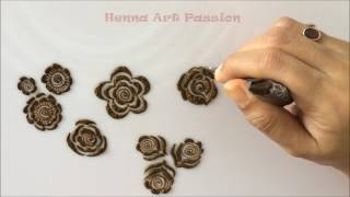 Download embellishment 5 : learn quick and easy gulf roses and leaf Video