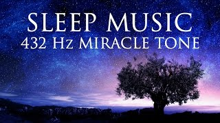 Download The Best SLEEP Music | 432hz - Healing Frequency | Deeply Relaxing | Raise Positive Vibrations Video