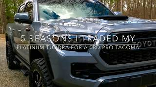 Download Why I traded my Platinum Tundra for a Trd Pro Tacoma Video