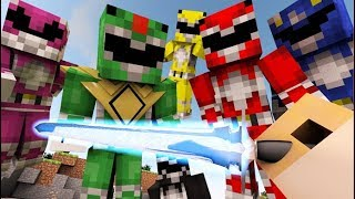 Download FIRST PERSON MINECRAFT: Power Rangers IN MINECRAFT [3D Animation] Video
