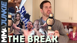 Download The Break: On Bellator's ideal scenario, Ronda Rousey's odd choice of words Video