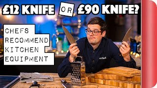 Download £12 Knife or £90 Knife? | Chefs Recommend Kitchen Equipment Video