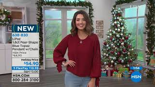 Download HSN | LiPaz Sterling Silver Jewelry Premiere 10.29.2018 - 04 PM Video