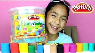 Download Tuesday Play Doh Huge Play Doh Bucket Adventure Zoo|B2cutecupcakes Video