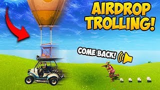 Download STEALING AIR DROPS! (2000 IQ) - Fortnite Funny Fails and WTF Moments! #285 Video