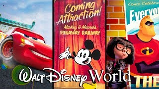 Download Top 5 NEW Attractions Coming to Walt Disney World in 2019 Video