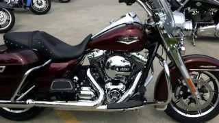 Download 2014 Road King Harley-Davidson FLHR Mysterious Red Sunglo Video