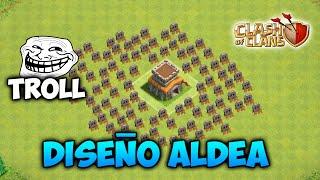 Download Diseño ALDEA TROLL AYUNTAMIENTO 8 Clash of Clans (El mejor) Video