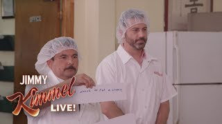 Download Jimmy Kimmel & Guillermo at a Fortune Cookie Factory Video