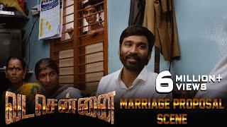 Download VADACHENNAI - Marriage Proposal Scene   Dhanush   Ameer   Andrea Jeremiah   Vetri Maaran Video