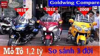 Download Honda Goldwing - So sánh siêu xe 1,2 tỷ qua 3 thế hệ khác nhau Video
