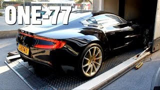 Download Aston Martin One77 Delivery & Cold Start Up! Video