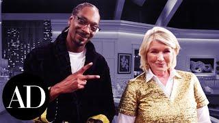 Download Snoop Dogg Shows Martha Stewart His ″Herbs″ | Architectural Digest Video