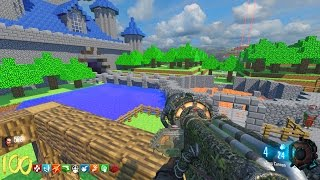 Download HUGE MINECRAFT ZOMBIES MOD! BLACK OPS 3 CUSTOM ZOMBIES MAP GAMEPLAY (BO3 Zombies) Video