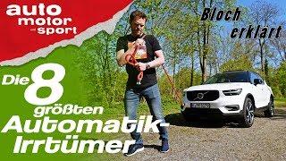 Download Die 8 größten Automatik-Irrtümer - Bloch erklärt #36   auto motor und sport Video