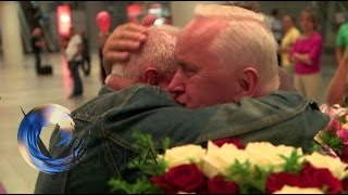 Download Twins reunited after 70 years apart - BBC News Video