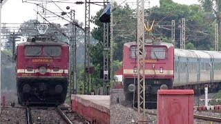 Download HYBRID Vs PURE LHB: Puri Shatabdi meets Yeswantpur Duronto Express...! Video