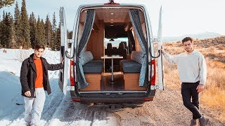 Download Traveling Cross Country Living In Our Tiny Home Van Video