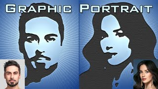 Download Photoshop: How to Create Graphic Portraits from Photos Video
