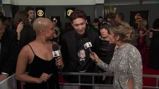 Download Lay Zhang Red Carpet Interview | 2019 GRAMMYs Video