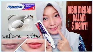 Download Cara memerahkan bibir dengan cepat menggunakan pasta gigi Video